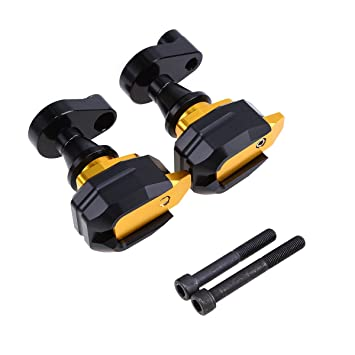 Amazon.com: Motorcycle Frame Slider,POSSBAY Anti Crash Falling ...