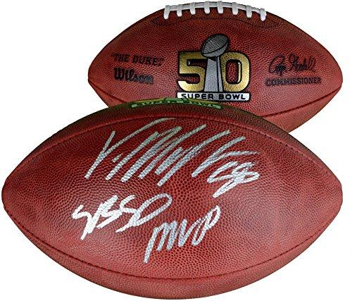 Von Miller Denver Broncos Autographed Super Bowl 50 Champions Pro Football with