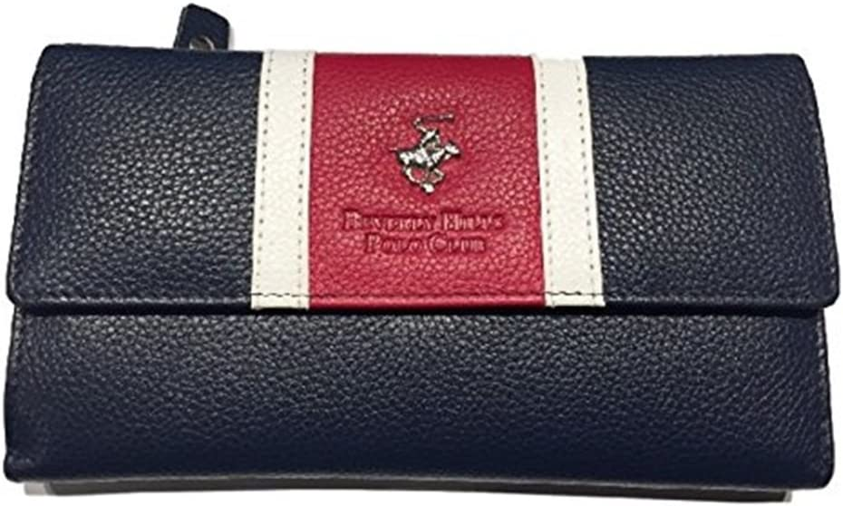 Cartera piel Beverly Hills Polo Club Mujer Largo multicolor ...