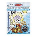 Melissa & Doug My First Paint with Water Kids' Art Pad With Paintbrush - Pirates, Space, Construction, and More
