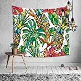 kaige Tapestry Pineapple Hanging Picture Tablecloth Beach Towel