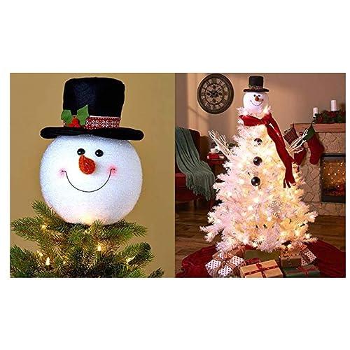 Big W White Christmas Tree: Winter Wonderland Decor: Amazon.com