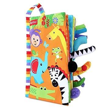 Livres Pour Bebes Livres D Animaux En Tissu Livre De