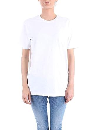 T Shirt Femme A90761001 Russell Blanc Athletic Coton c4RLjq35A