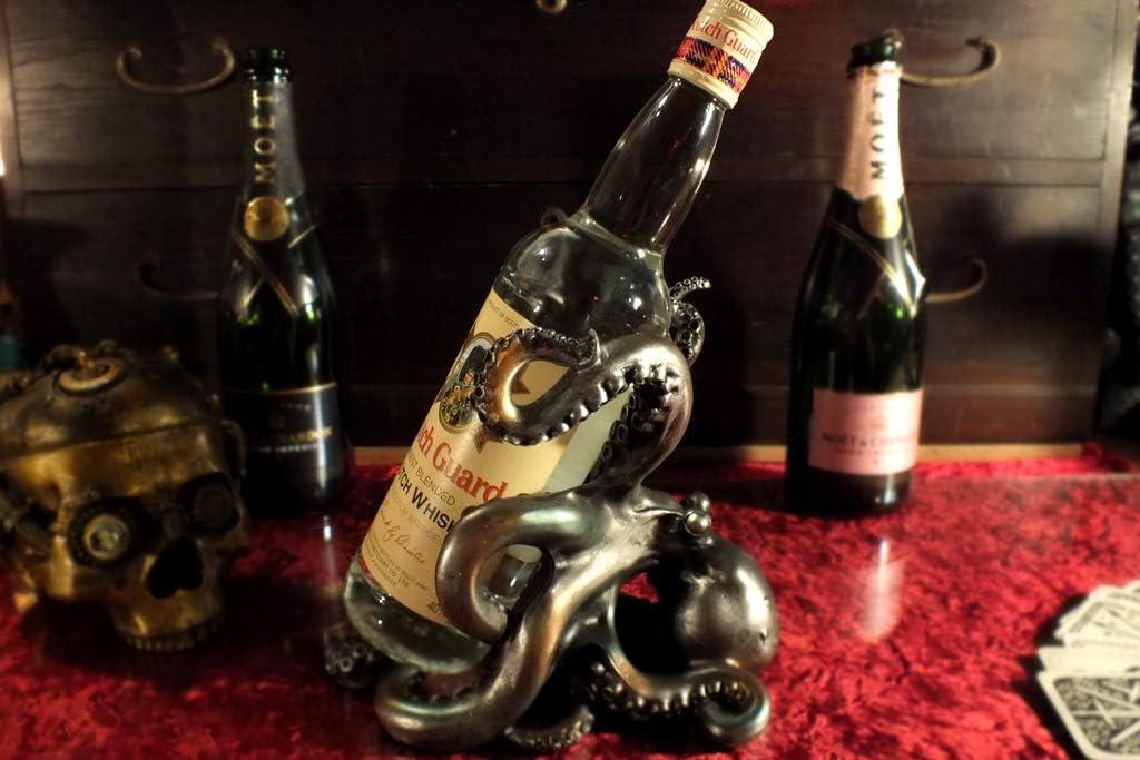 オクトパス(タコ)ワインボトルホルダー(タコの置物) Octopus Wine Bottle Holder