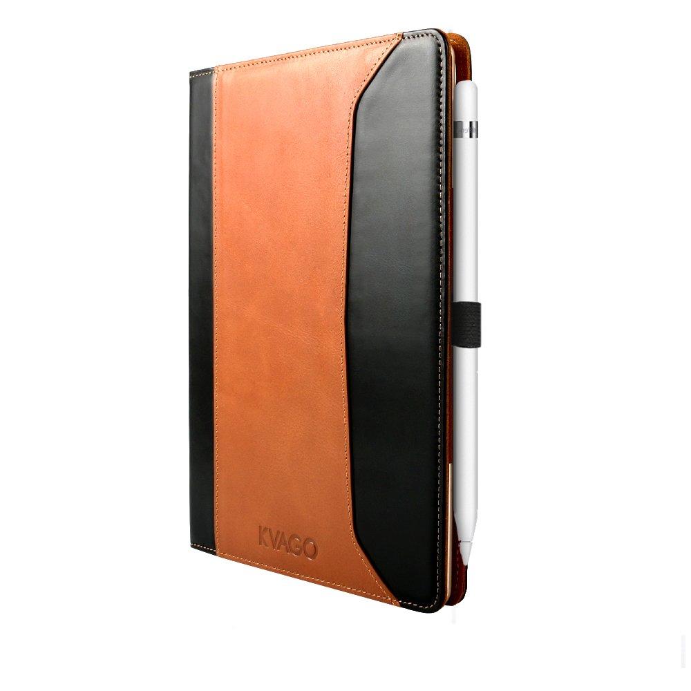 【超ポイント祭?期間限定】 iPad Pro 9.7ケースKVAGOプレミアム本革保護ケースフォリオフリップカバースタンドwith Hand Strap ブラウン & Kickstands、自動スリープ inch ブラウン/スリープ解除スマートカバーApple iPad Pro 9.7インチ – ブラウン iPad Pro 9.7 inch ブラウン 5771552 ブラウン B01DQIG52O, 胡麻の豊年屋:b1039753 --- a0267596.xsph.ru