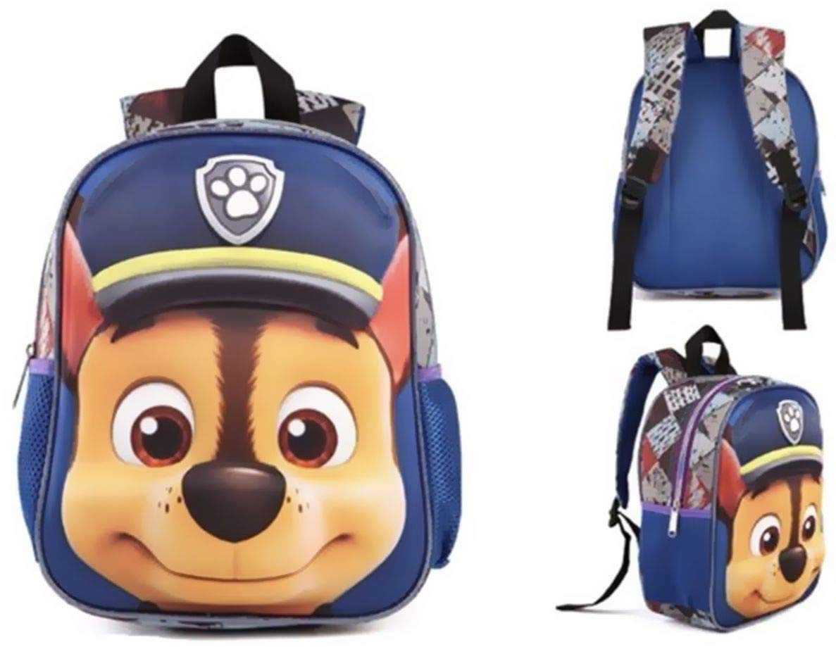 la Maternelle et l/école Paw Patrol Sac /à Dos pour Enfant avec Masque et Effet 3D pour Le Sport