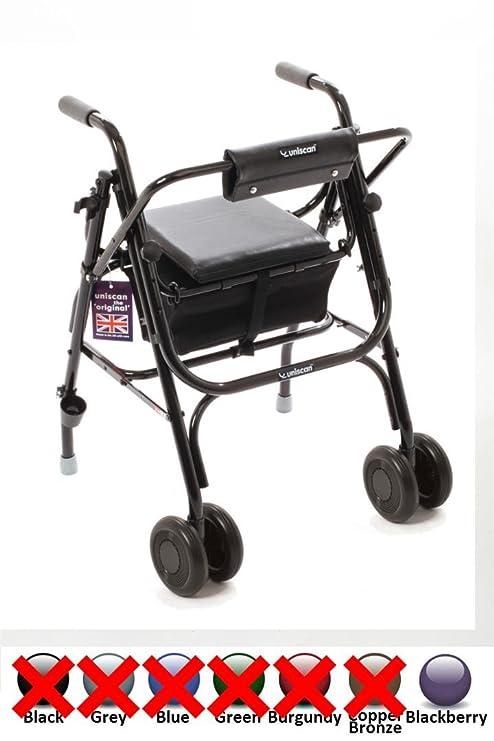 Uniscan de un-frame 38,1 cm andadores y sillas de ruedas de la ...
