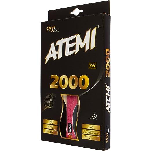 6 opinioni per Atemi Pro Line 2000 racchetta da ping pong Superior Control and Power- approvata
