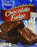 Pillsbury Chocolate Fudge Brownie Mix 18.4 Oz (Pack of 6)