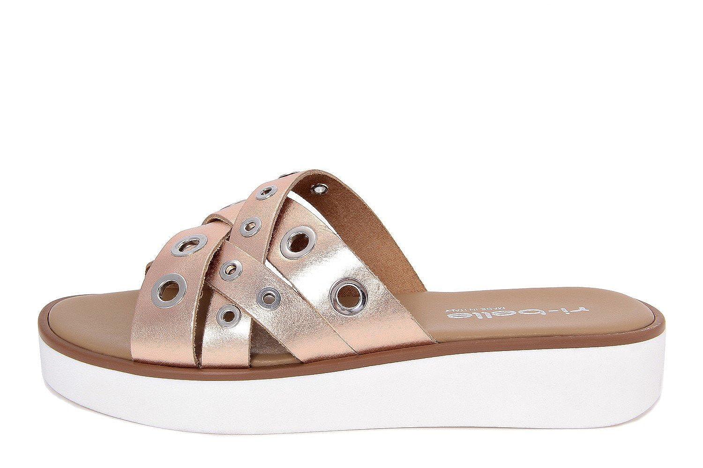 cheap RI-BELLE - FEMME - T670_145837_ROSE - sandale en cuir