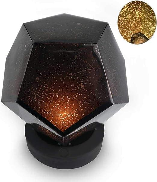 Diamonia Lámpara De Proyector De Estrellas Dodecaedro DIY ...