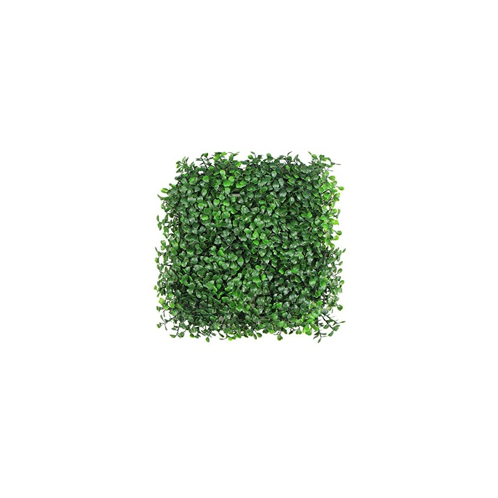 ULAND-Artificial-Hedges-Panels-Boxwood-Greenery-Ivy-Privacy-Fence-Screening-Home-Garden-Outdoor-Wall-Decoration-20×20-per-pc