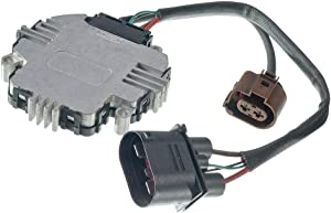 A-Premium Engine Cooling Fan Control Module for Volkswagen Golf Jetta Passat Eos CC GTI Tiguan Audi A3 TT Quattro
