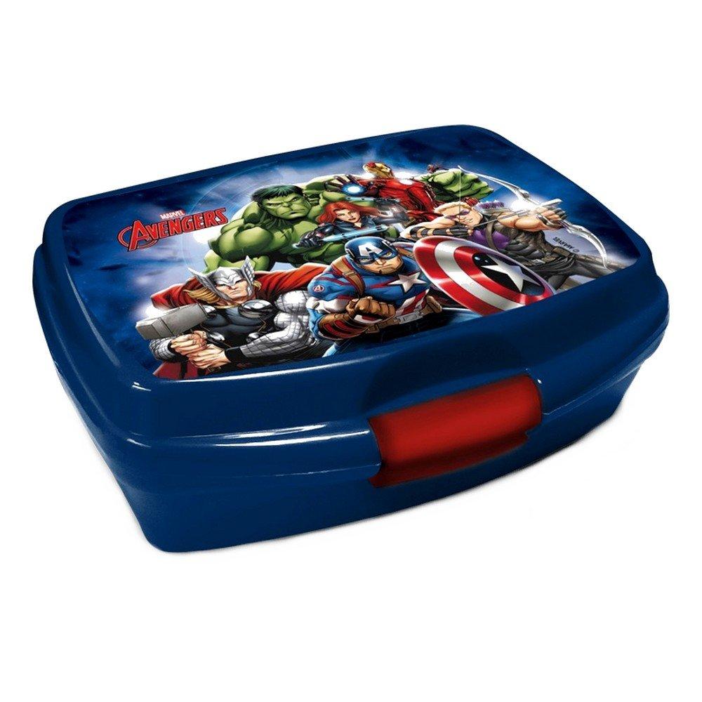 Scatola per pranzo a i vendicatori Disney bambino Benji Sandwich Hulk Iron Man GUIZMAX