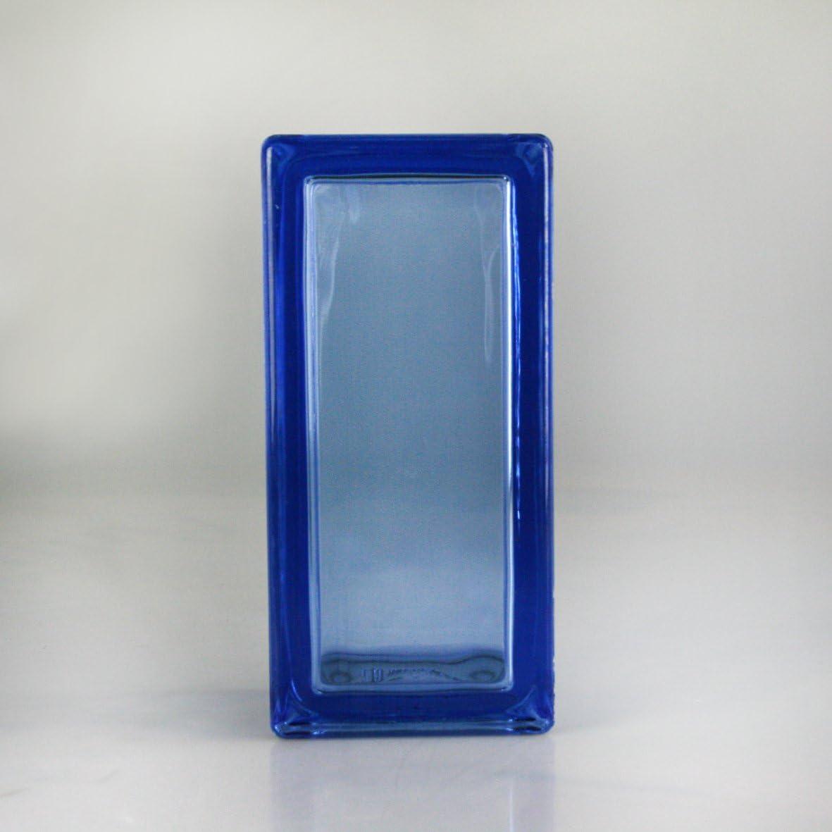 12 piezas Vetra Bloques de vidrio Vista completa Azul 19x9x8 cm - (Medio Bloques de vidrio) sin colores: Amazon.es: Bricolaje y herramientas