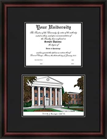 com ole miss rebels diploma frame lithograph print  ole miss rebels diploma frame lithograph print