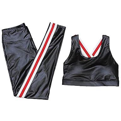 2 Unids Mujeres Yoga Gym Fitness Chándal, Tank Tops Pantalones ...