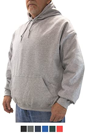 NewportXL Big & Tall Men's Fleece Pullover Hoodie Sweatshirt at ...