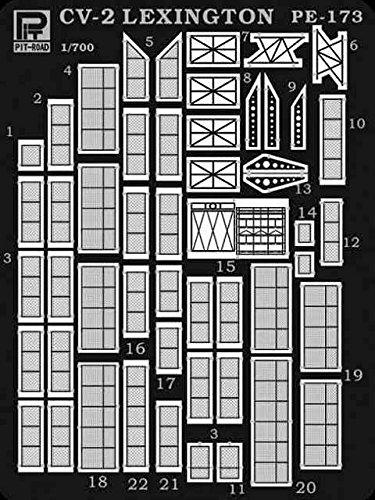 ピットロード 1/700 米国海軍 航空母艦 CV-2 レキシントン 1942