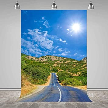 MEETS 7x5ft Natural Scenery Backdrop Mountain Photography Background Themed Party Photo Booth YouTube Backdrop GYMT174