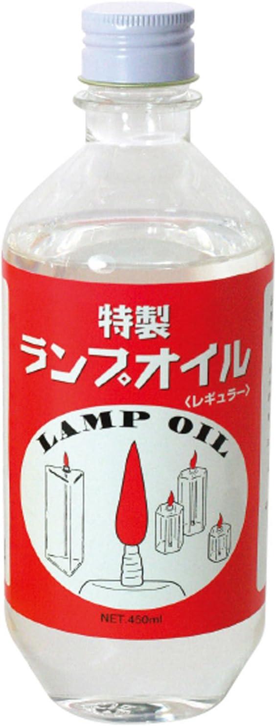 LINDEN(リンデン) 液体燃料 特製ランプオイル レギュラー 450mL プラボトル入り