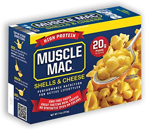 Muscle Mac 20 gramos de proteína de alta, macarrones con ...