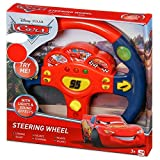 Disney Cars 3 Steering Wheel Lightning McQueen Lights & Sounds Toy Playset