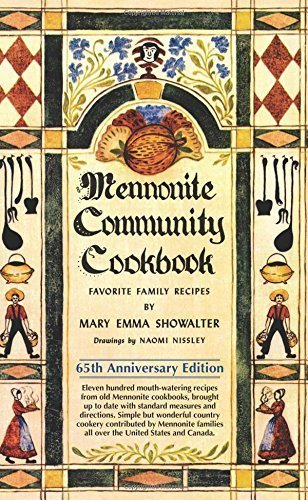 Mennonite Community Cookbook: 65th Anniversary Edition by Mary Emma Showalter (2015) Spiral-bound