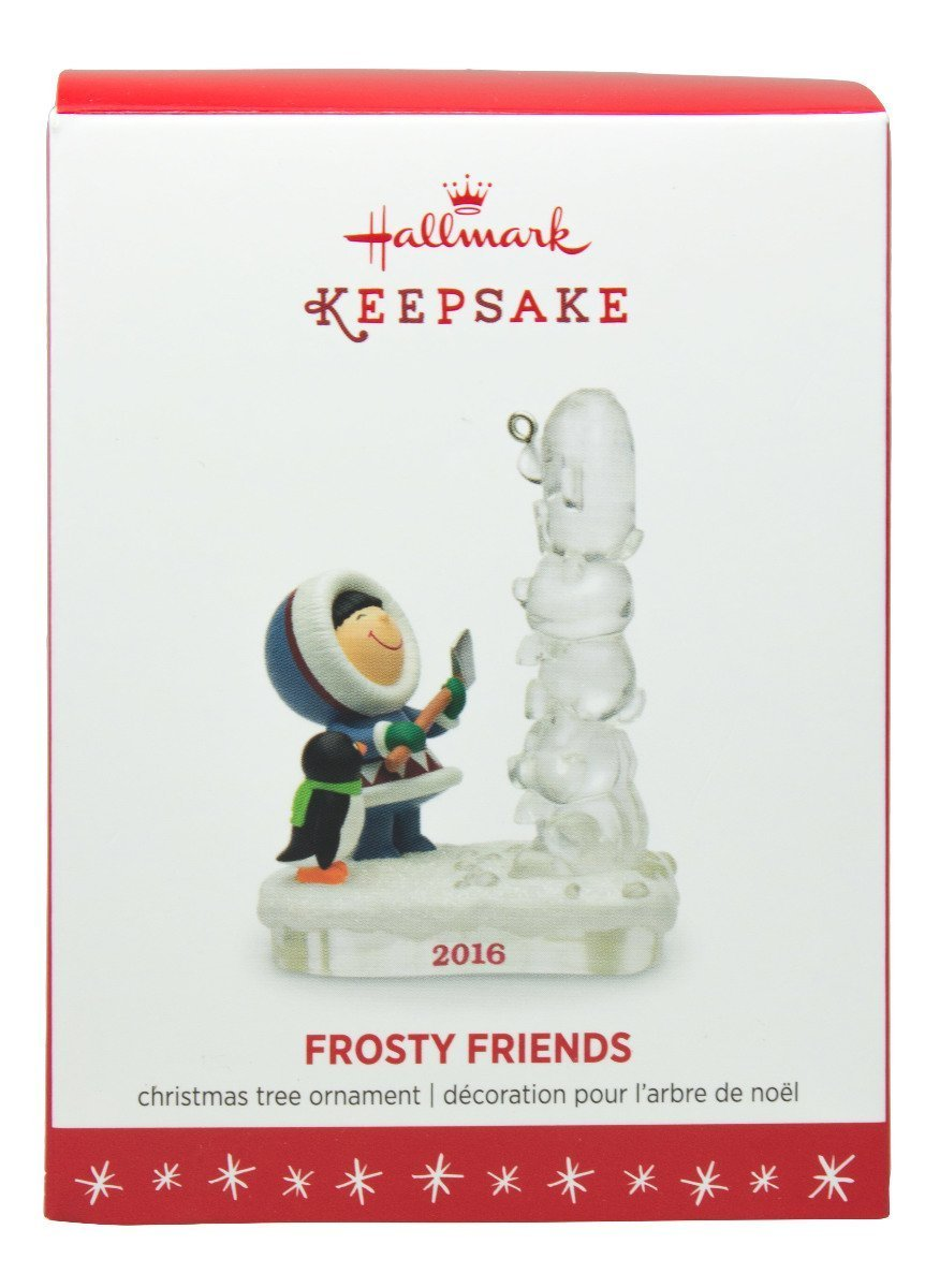 Amazon.com: Hallmark 2016 Christmas Ornaments Frosty Friends 37th in ...