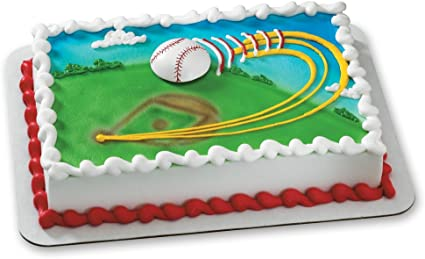 Magnificent Amazon Com Decopac Extreme Baseball Magnet Decoset Cake Topper Personalised Birthday Cards Paralily Jamesorg