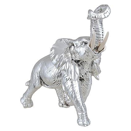 Buy Shazé Rolling Trunk Elephant Figurine | Elephant Trunk