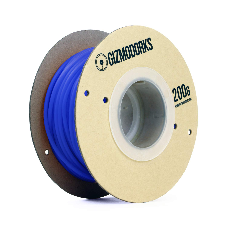 200g for 3D Printers Gizmo Dorks PLA Filament 3mm 2.85mm Heat Color Change Blue to White