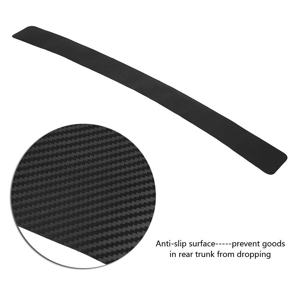 durevoli protettivi autoadesivi per auto Protezione per paraurti posteriore per autoadesivo Decor Cover Anti-graffio per paraurti Protector Trim Strip per aut Adesivi per paraurti posteriori per auto
