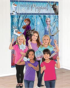 Amscan Nature Is Magical Frozen 2 Birthday, Party Scene Setter with Props, 75
