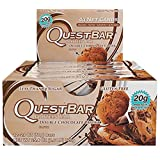 Amazon Price History for:Quest Nutrition Protein Bar, Double Chocolate Chunk, 20g Protein, 2.1 OZ Bar, 12 Count