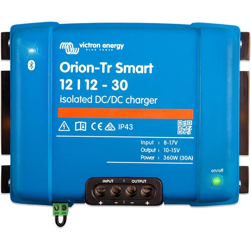 Victron Energy Orion-Tr Smart 12/12-30A (360W) - Cargador de corriente continua (galvanizado)