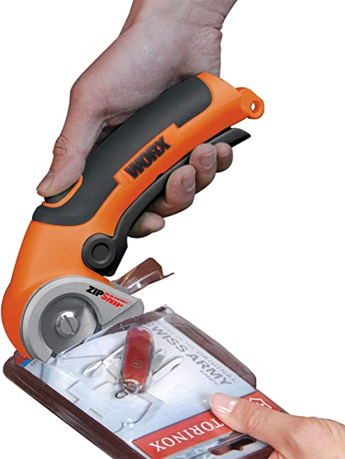 Best Electric Rotary Cutter for Multiple Uses: WORX ZipSnip
