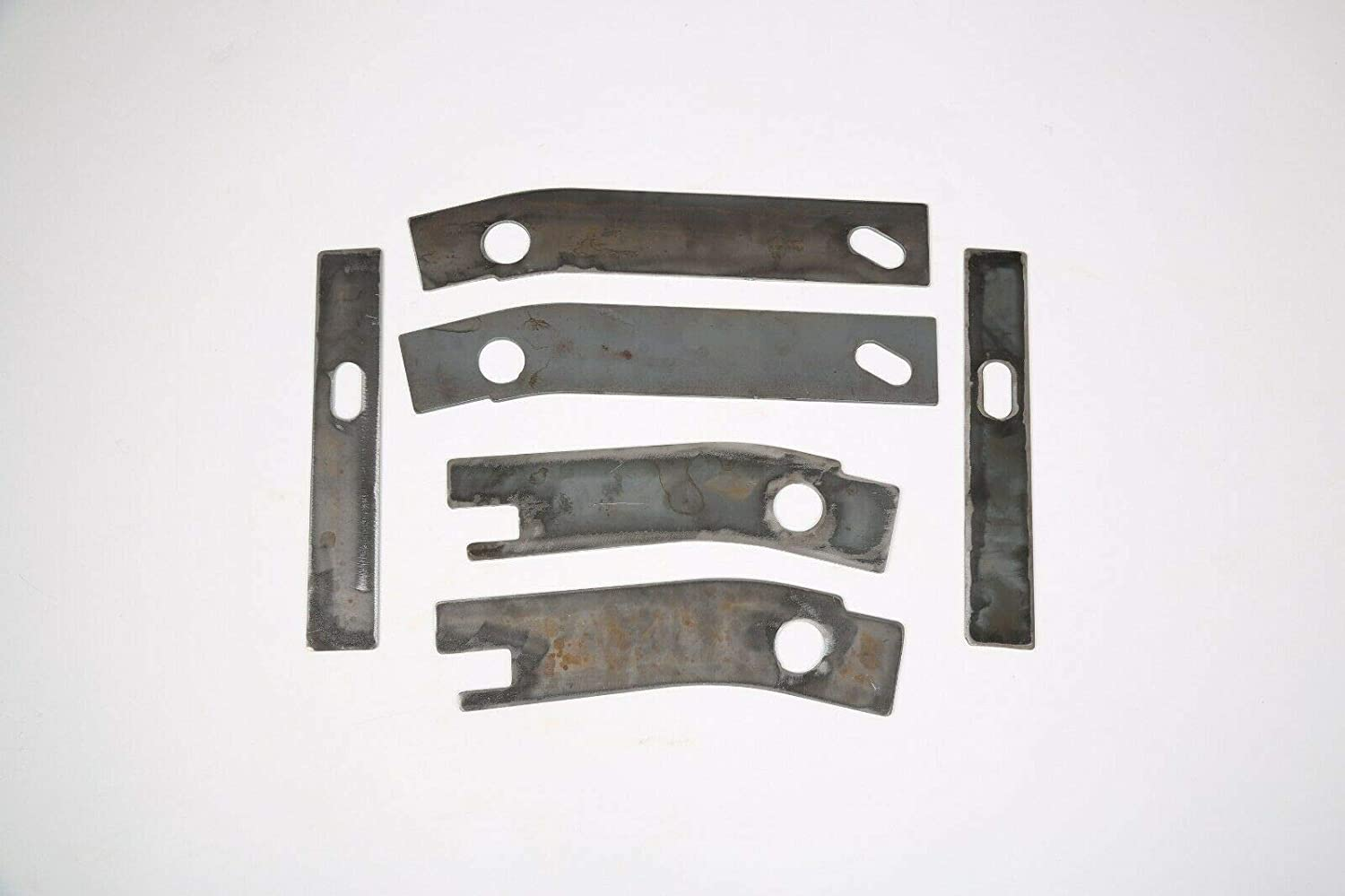 Rear Frame Repair Rusted Shackle Weld Plate Fit 1986-1995 For Jeep Wrangler YJ