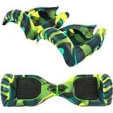 YLY-EU Protezione a 180° in silicone per hoverboard, accessorio per monopattino elettrico su 2 ruote da 16,5 cm