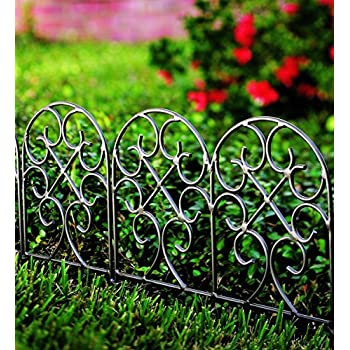 Delicieux Classic Scroll Iron Garden Edging
