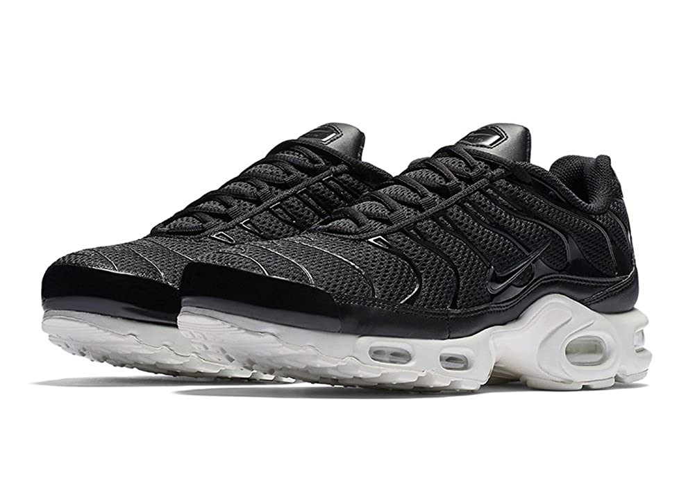 the best attitude 4427a da0eb Amazon.com   Nike Air Max Plus TN 1 BR Breeze Black White Anthracite  898014-001 Size 11.5 Men s US   Fitness   Cross-Training