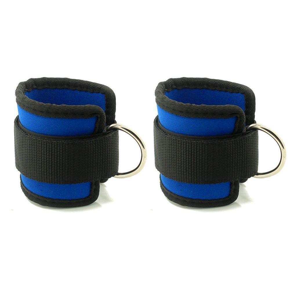 Grofitness, cavigliere per esercizio fisico con cinghie e anello a forma di D, (1 coppia), #1