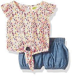 Crazy 8 Baby Toddler Girls\' Geo Print Set, Multi, 18-24 Months
