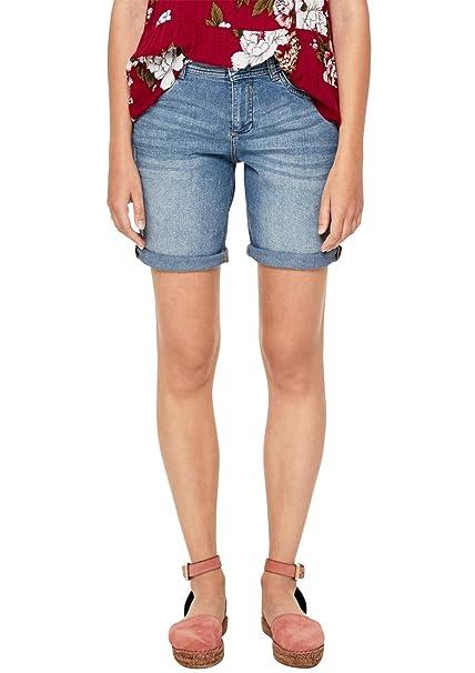 S. OLIVER DAMEN Kurze Hose Bermuda Shorts schwarz Gr. 40