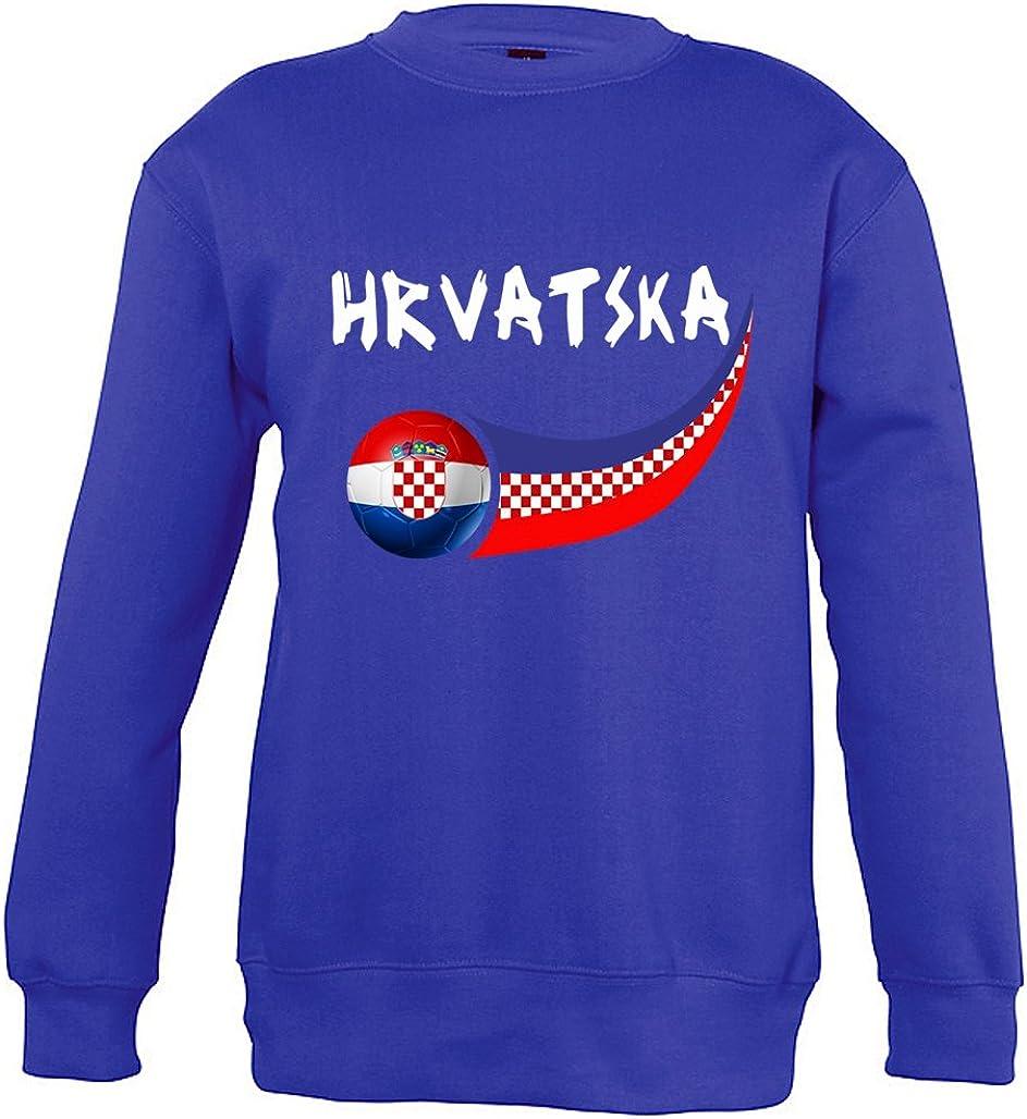 Supportershop Croazia Felpa da Ragazzo