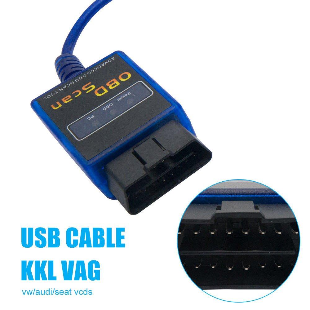 Amazon com: 1 5V Modified ELM327 Diagnostic Scanner USB For