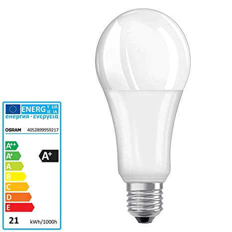 Osram Parathom Advanced Classic A 150 Dimmable Bombilla Led 220-240v 21w 2700k e27.