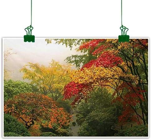 Anzhutwelve - Arcos de Flores para Pared con Caminos en Plantas Ornamentales, para decoración de jardín, Color Verde y Rojo: Amazon.es: Hogar