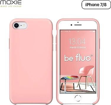 coque iphone 7 rose clair